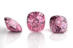 Pinke Diamanten
